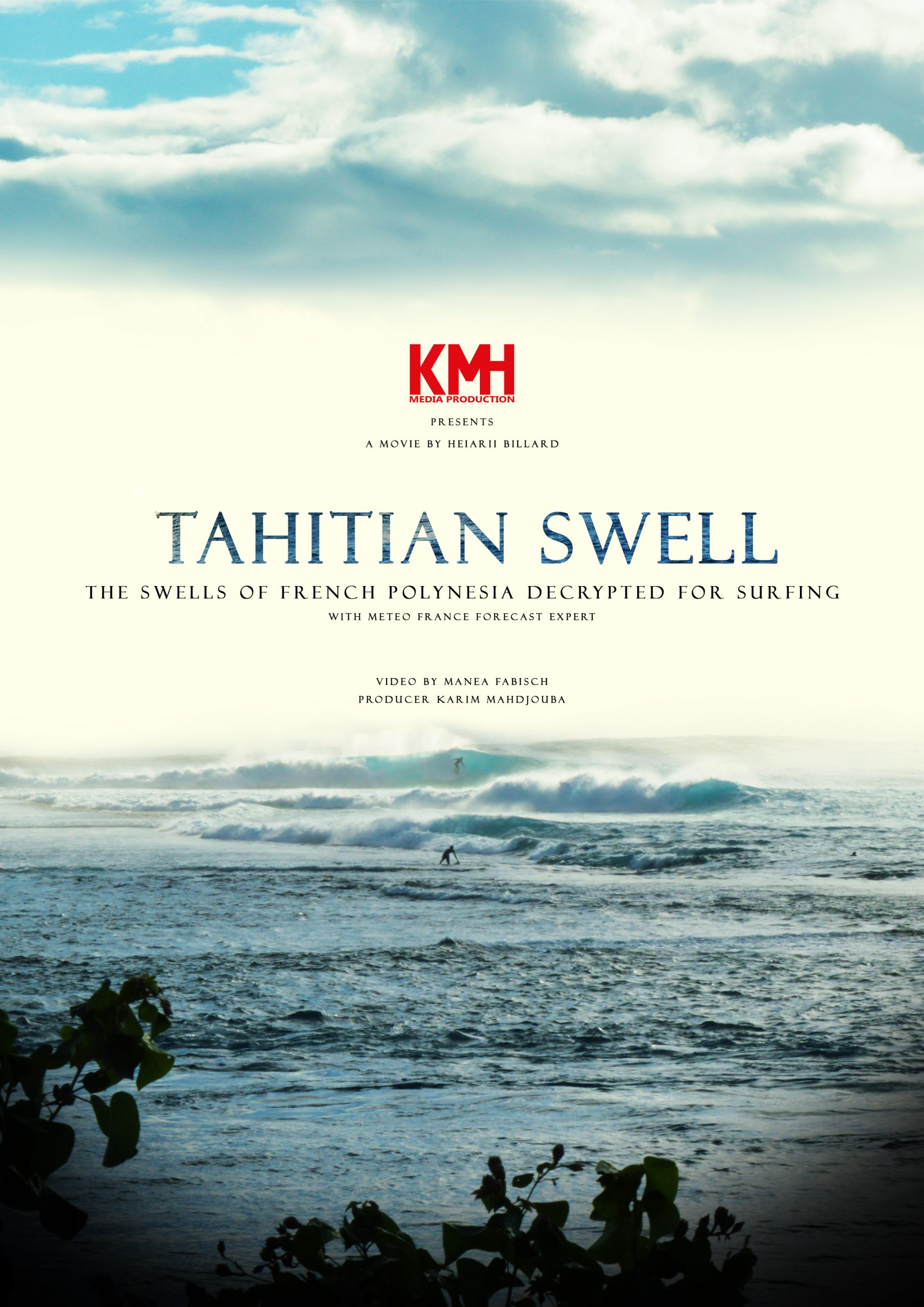 Affiche Tahitian Swell